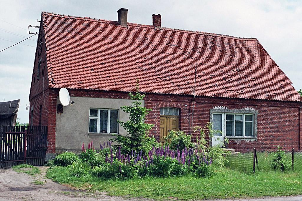 Der frühere Hof von Albert Litfin