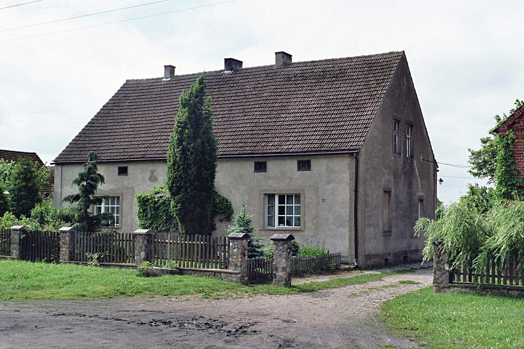 Der frühere Hof von Max Radke