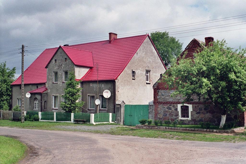 Der frühere Hof von Franz Garske