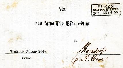 Brief 1866