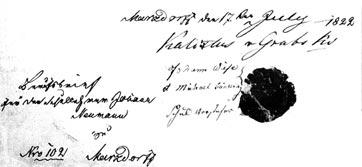 Berufsbrief Johann Neumann
