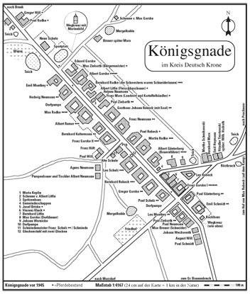 Karte von Königsgnade