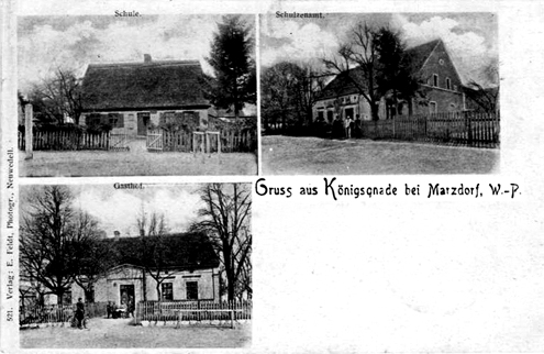 Ansichtskarte von Königsgnade