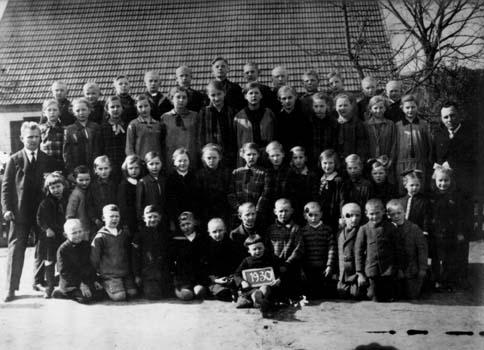 Schulklasse 1930